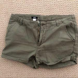 BDG Army Green Shorts